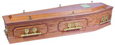 Cavendish Oak Coffin