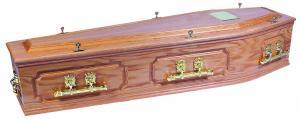 Cavendish Oak Coffin