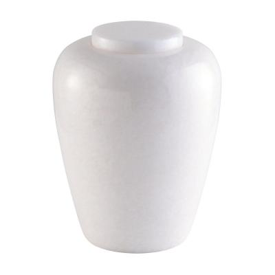 Classic Marble Simple Urn