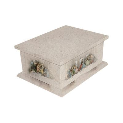 Last Supper Picture Cremated Remains Casket