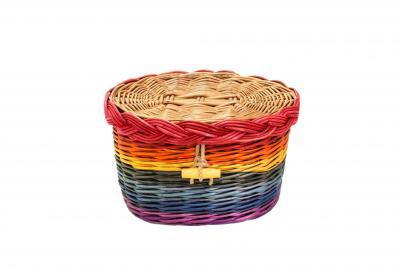 Rainbow Willow Cremation Urn