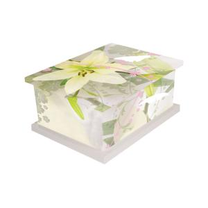 Pollination Picture Cremated Remains Casket