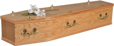 Chiltern Oak Coffin