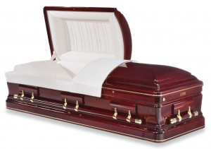 Bordeaux Cherry Casket